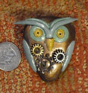 Jackies Owl. Pin