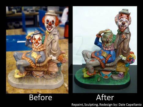 Clown Mod, statue