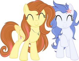 Daisy and Milana! by WeekendRoses