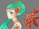 elf portrait: Rose