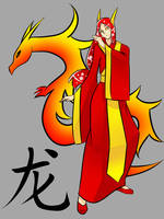 Chinese Zodiac Sign: dragon by rika-dono