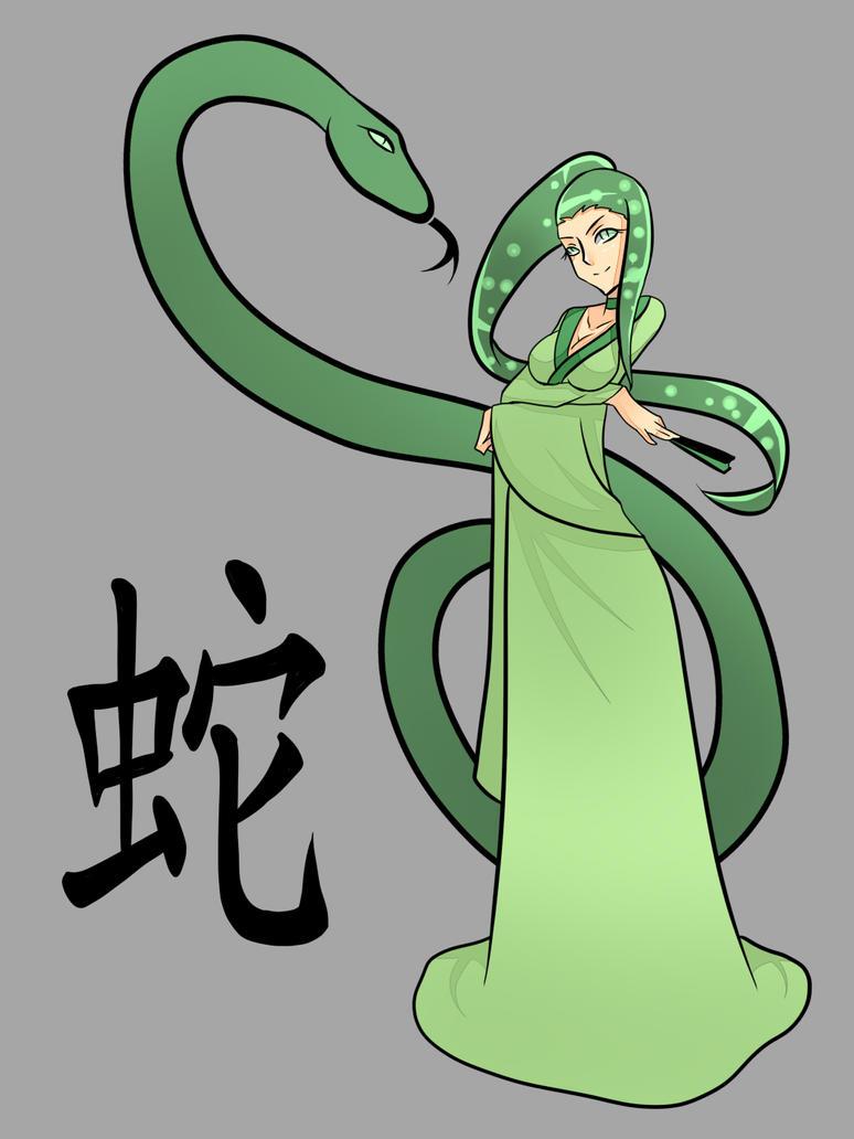 Chinese Zodiac Sign: snake by rika-dono on DeviantArt
