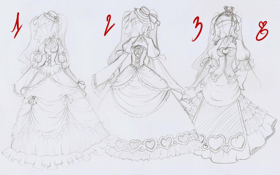 lolita dress design by rika-dono