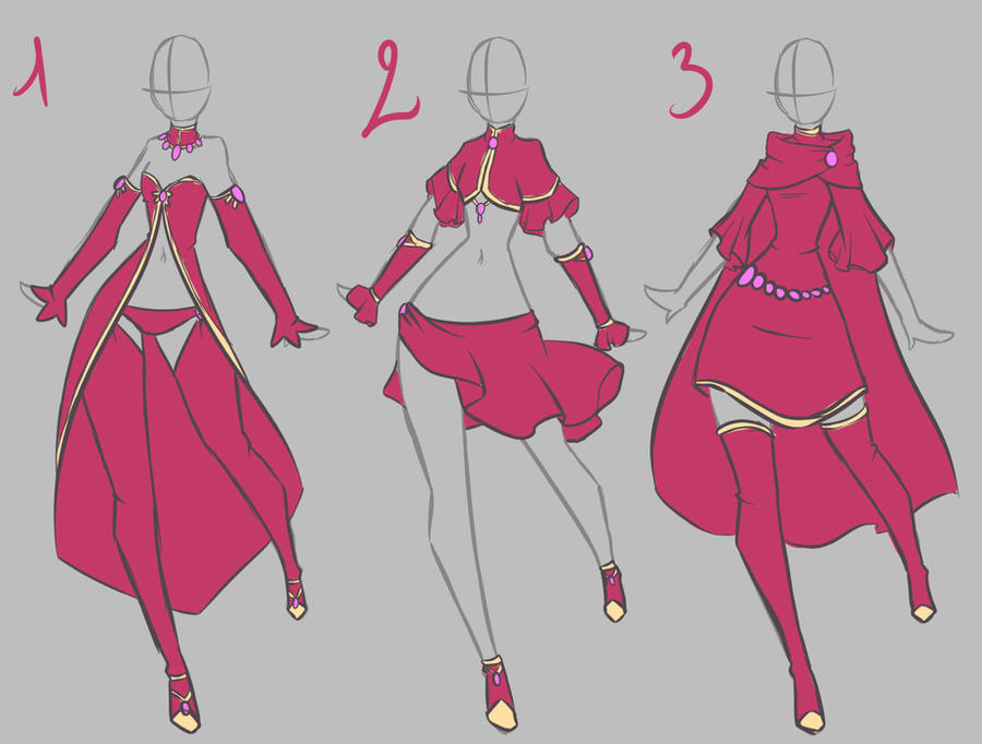 clothes design by rika dono on deviantart