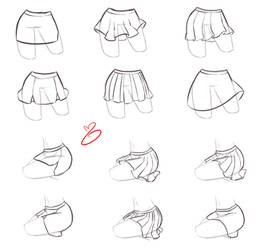 How I do - Skirts by rika-dono