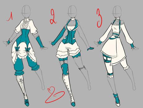 Steampunk dress design