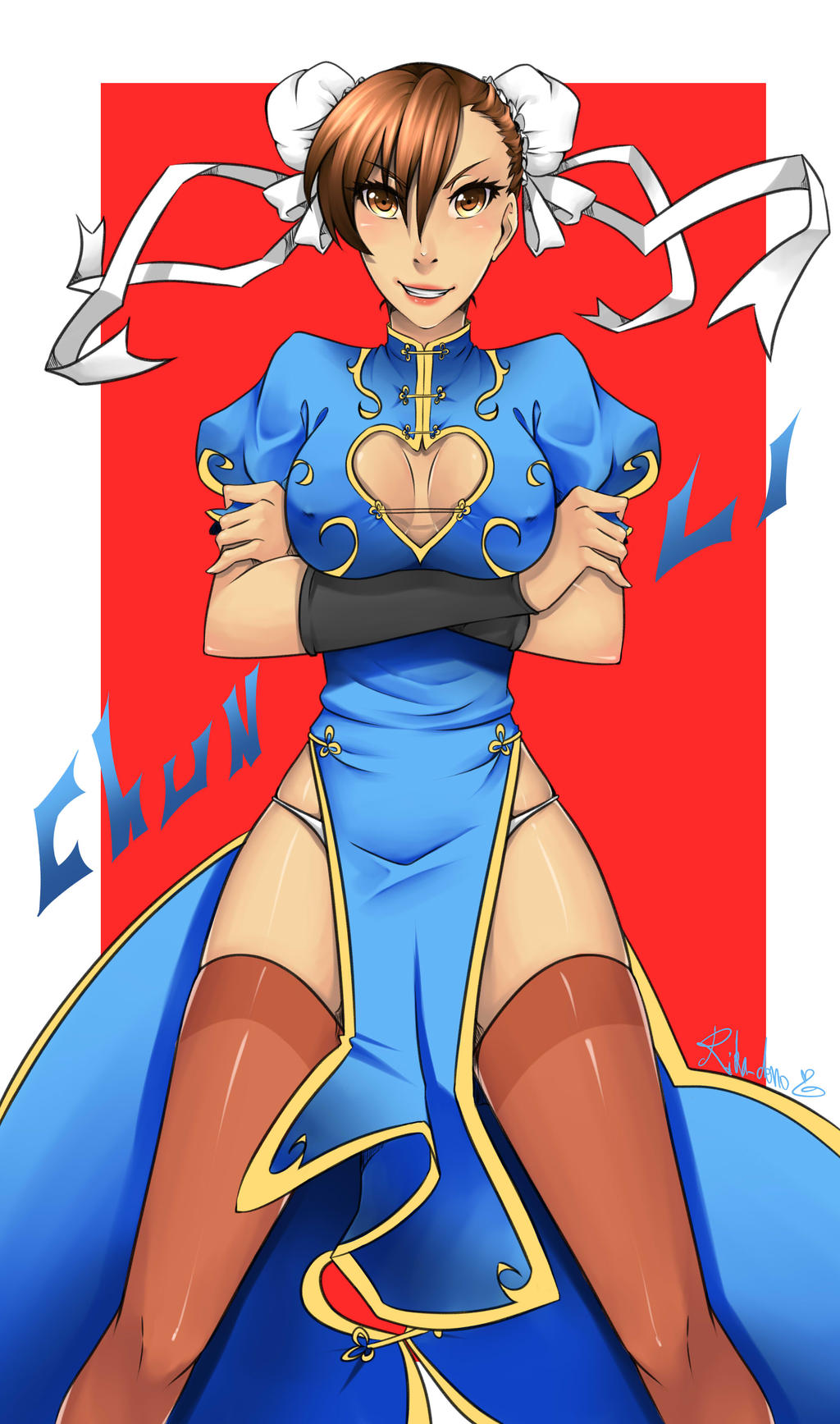chun Li Rule ! with video process by rika-dono