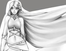 Perfect Goddess 2 video Process by rika-dono