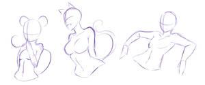 Random poses ... XD