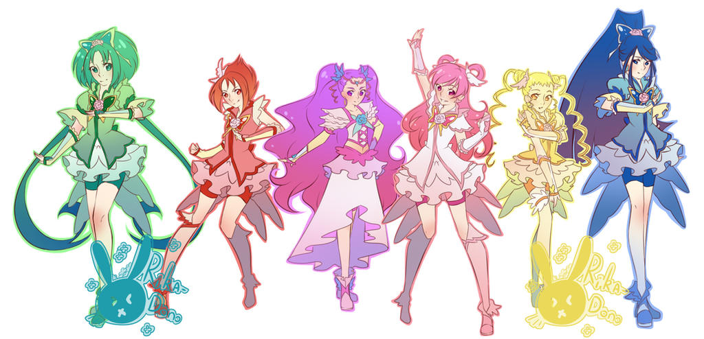 Yes! Pretty Cure 5 GoGo! by rika-dono