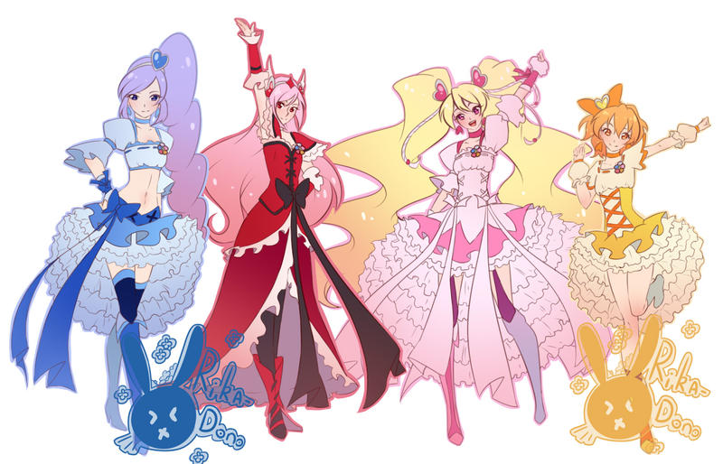 Fresh Precure! by rika-dono