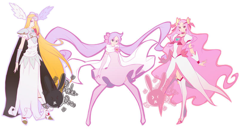 Heartcatch Precure ! part 2 by rika-dono