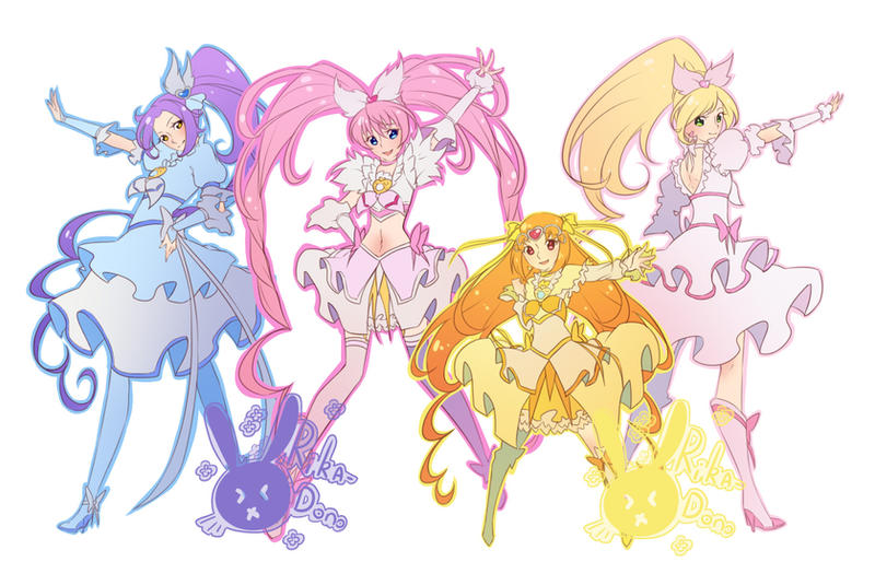 Suite Precure by rika-dono