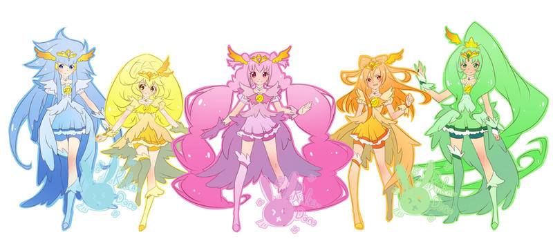 Smile Precure! by rika-dono