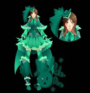 Gunner Of Green Roses Design
