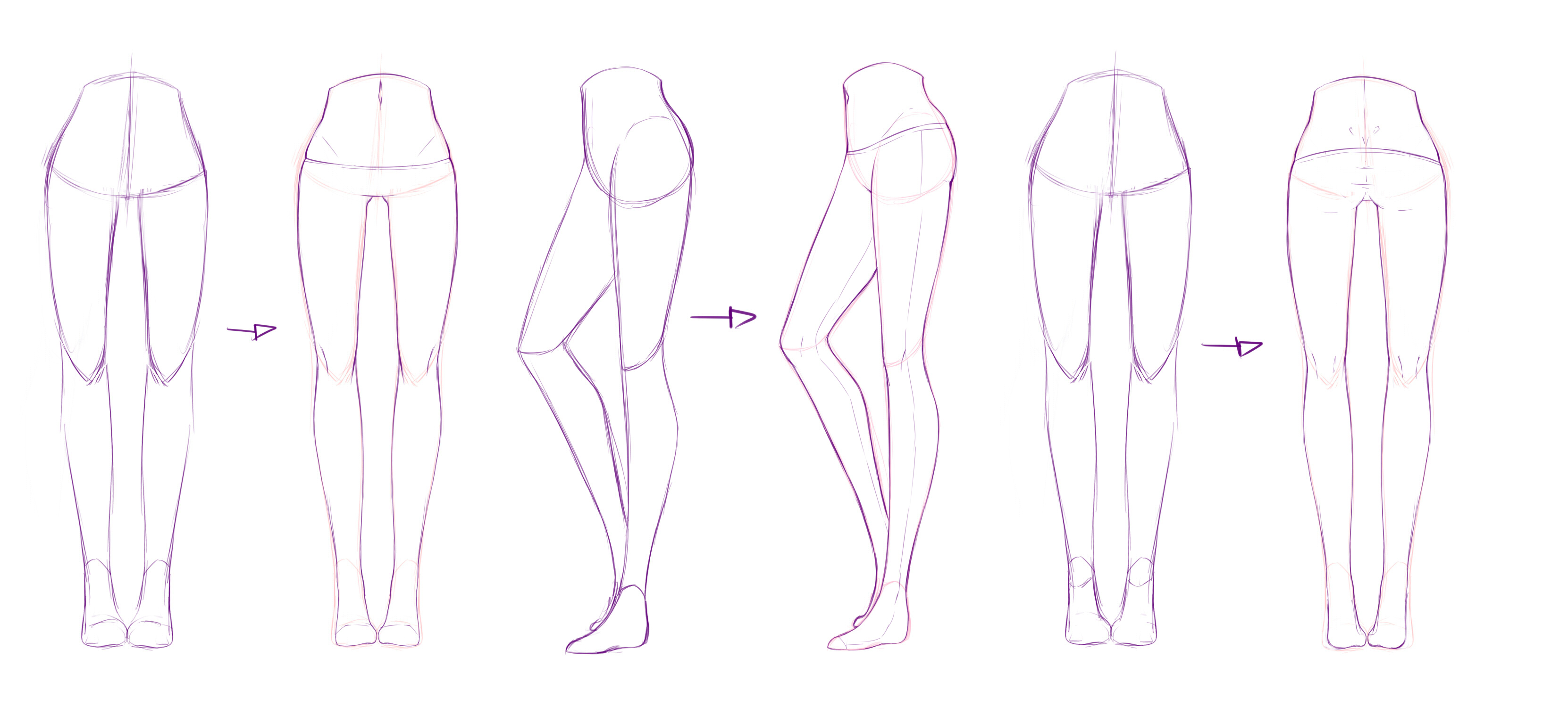 Legs Refs by rika-dono on DeviantArt