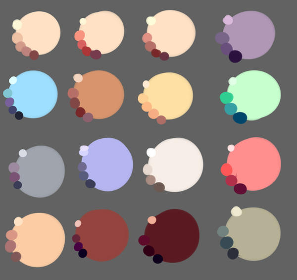Skin colors by rika-dono on DeviantArt