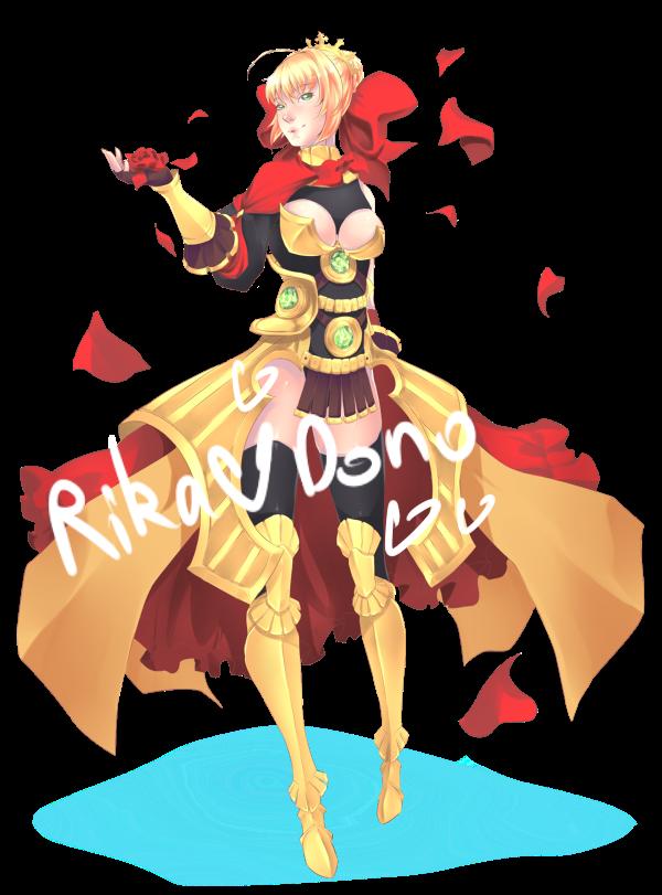 Saber Emperor by rika-dono