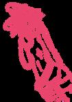 Punkie Bunny - Lineart