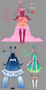 Outfits adopts - Paypal Auction CLOSED