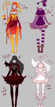 Outfits adopts 2 - Paypal Auction CLOSED