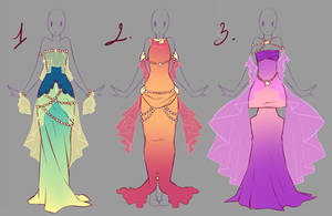 Outfits adopts 7 - Paypal Auction CLOSED