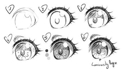Manga eyes - my way