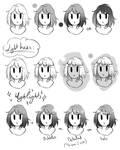 Toning Manga Hair - my way