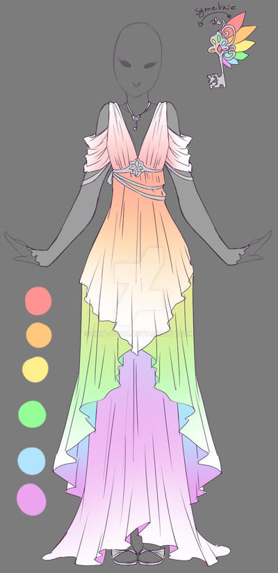 Rainbow Angel - Outfit...