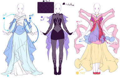 Designing Contest - 1st Place moonlight - Designs by rika-dono