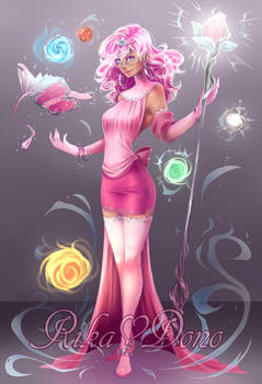 Elementalist Witch Perrine