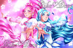 Teen Cure Blossom and Cure Marine