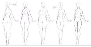 Some Body Forms I Like To Draw 2