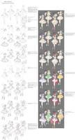 Design ''tutorial'' - Magical Girls