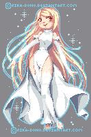 Pixel Zero by rika-dono