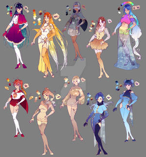 Universe and Co - 2018 designs