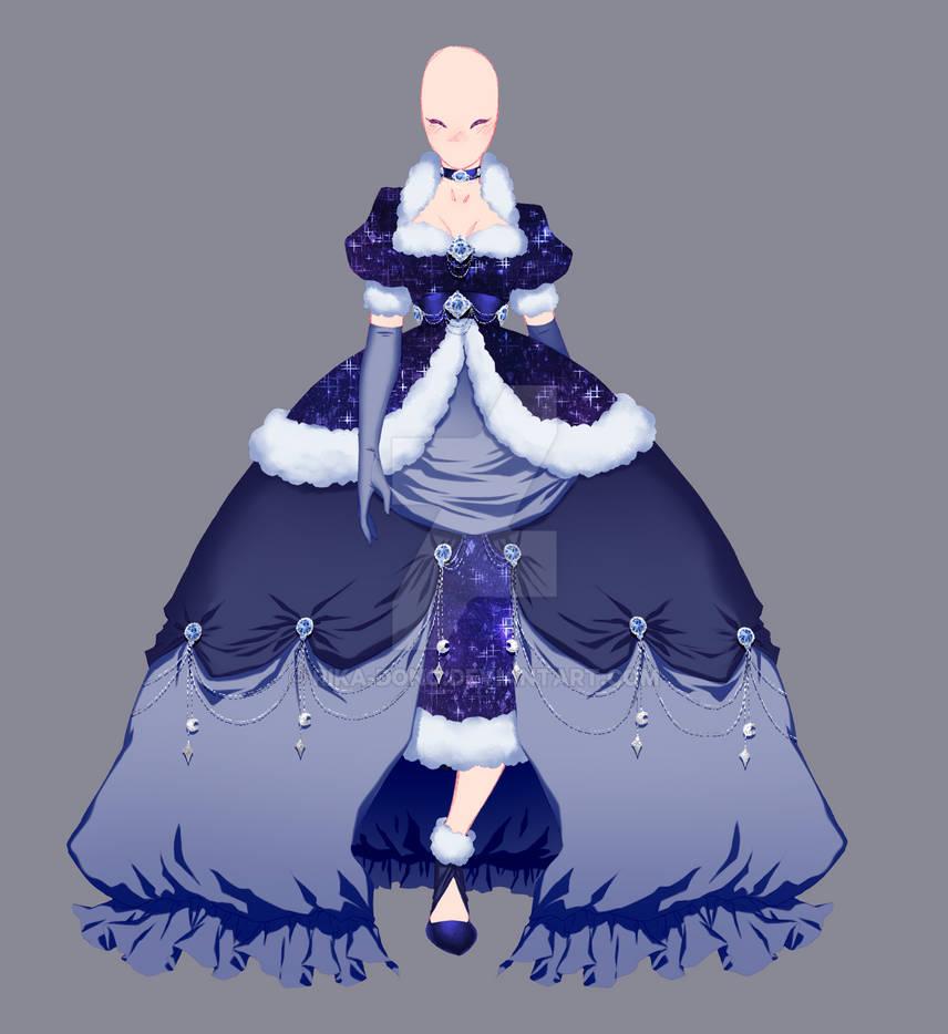 Fashion Illustration Serie 1 - Moonlight