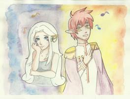Sol and Luna [Contest Entry] by Callia-Sapphira