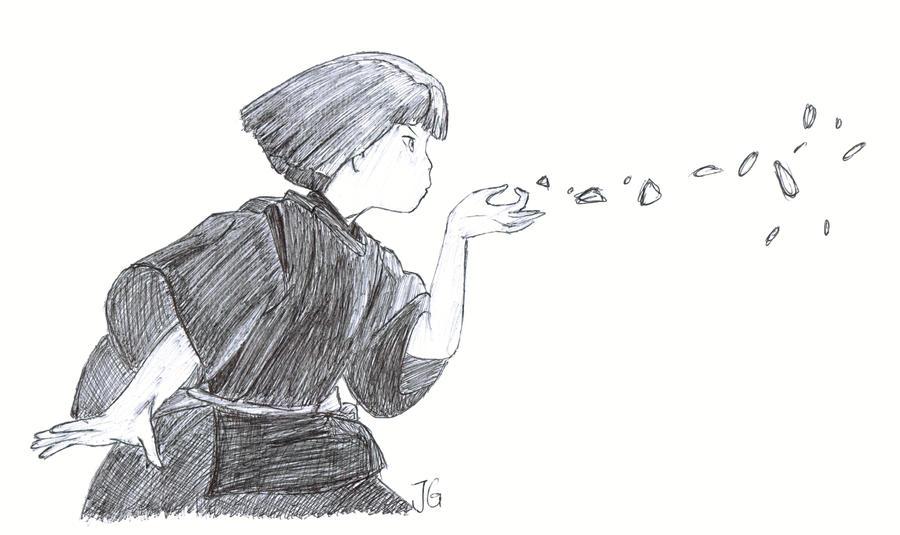 Haku - Spirited Away by flyingscorpions