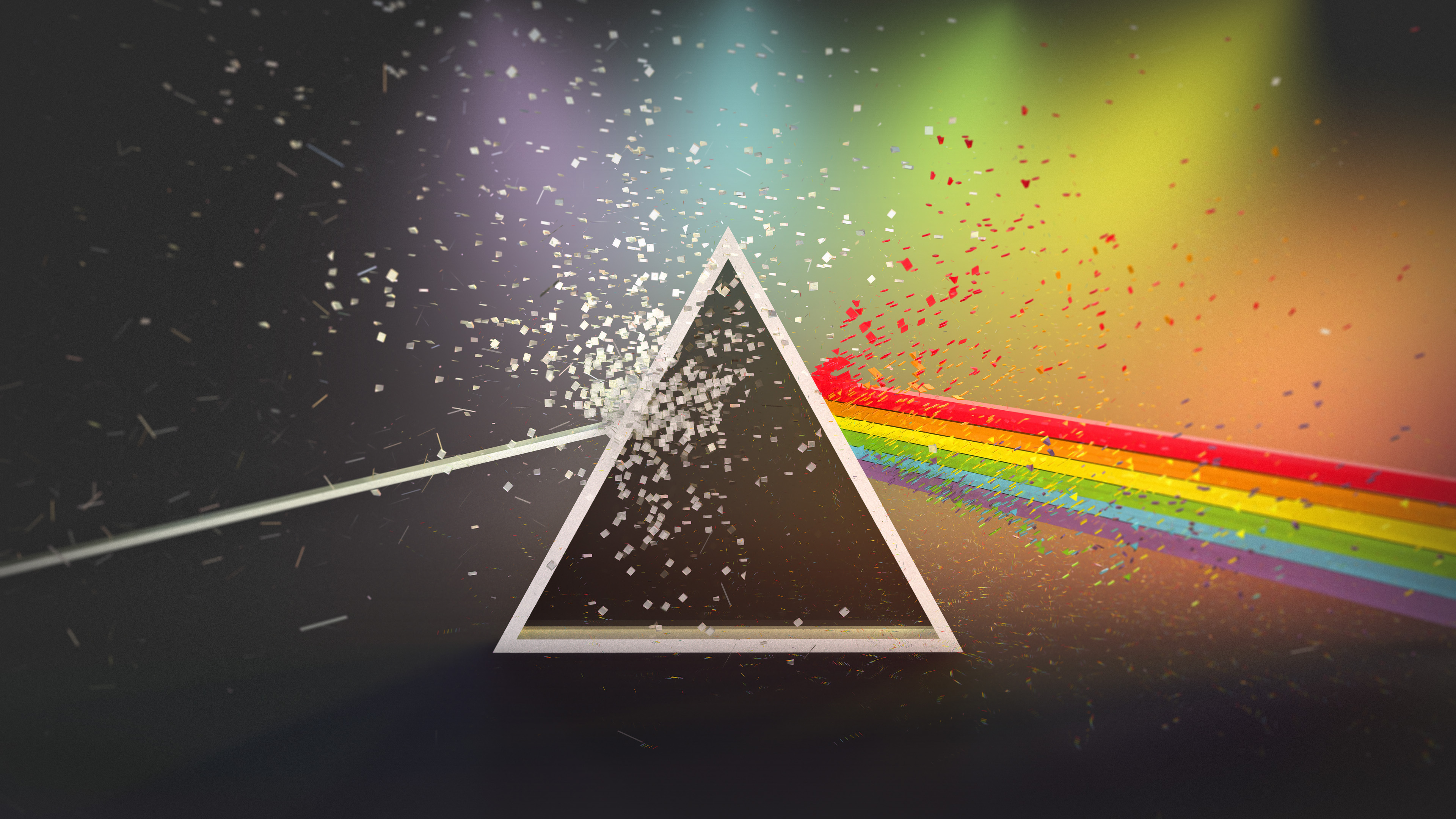 dark side of the moon fan wallpaper 4k 3840x2160 by l24d