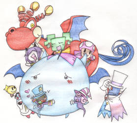 Chubby Bat Love by MP-MCBallyhoo-BigTop