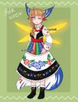 Vixeri #21 - folk girl [OPEN] by Kitsunka