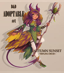 DnD Adoptable #1 - Auction [CLOSED]