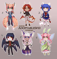 Fantasy humanoid adopts 10 [OPEN 3/6]
