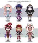 Fantasy humanoid adopts 17 [CLOSED]