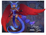 Dragon girl adoptable - auction [CLOSED]