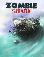 Zombie Shark by cee4