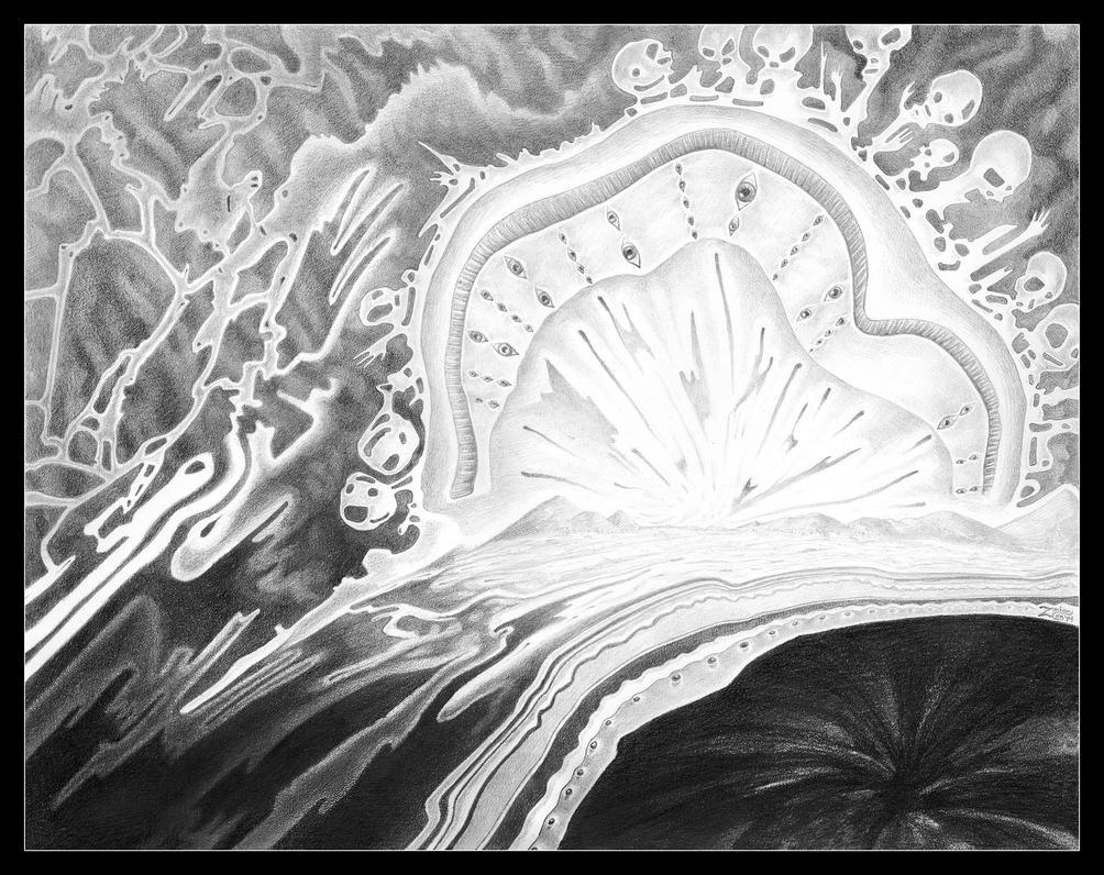 Antimatter Horizon by zacharycain