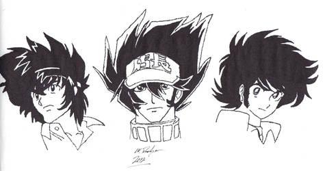 Gainax Trio - Gouda, Anisawa, Takizawa