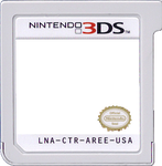 3DS Card Template